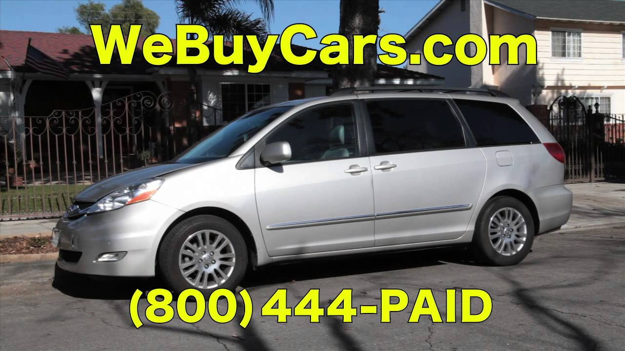 WeBuyCars.com Sell Your Car Right Now - YouTube