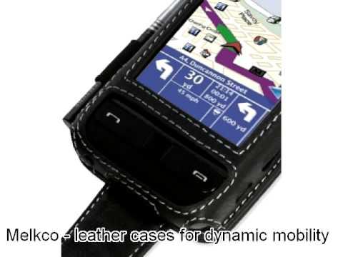 Melkco Tasche Leder Etui cuir ~Samsung SCH-i910 Omnia CDMA/Verizon Omnia Flip Type (Black) Ver. 1
