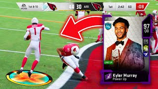 POWERED UP KYLER MURRAY AND JUICED PAT TILLMAN DOMINATE! BUDGET SQUAD - Madden 20