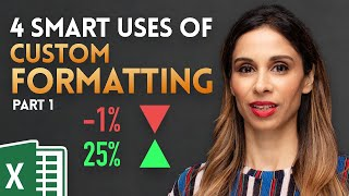 4 Smart Ways to use Custom Formatting instead of Conditional Formatting in Excel - Part 1