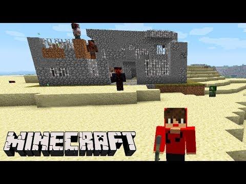 Minecraft: CRAFTING DEAD - ACHAMOS uma CASA!!! #02