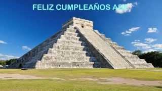 Abe   Landmarks & Lugares Famosos - Happy Birthday