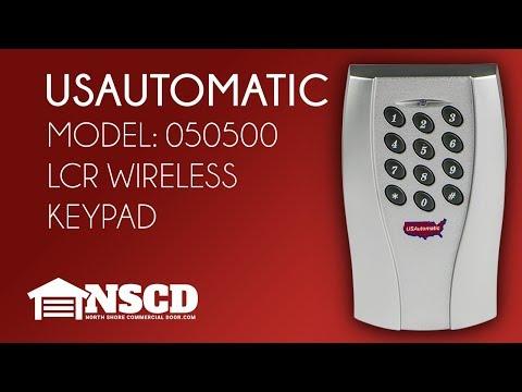 USAutomatic 050500 LCR Wireless Keypad
