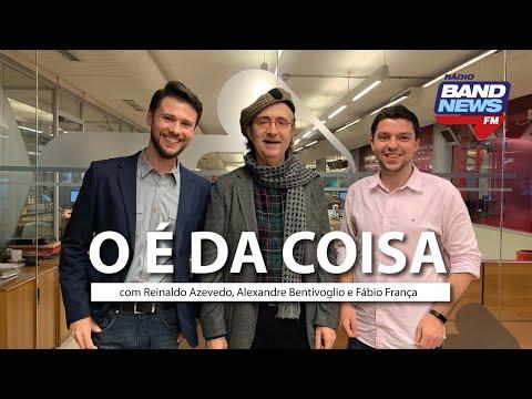 """""""O É da Coisa"""" com Reinaldo Azevedo - 21/10/2019 - AO VIVO"""