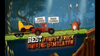 Forest Truck Simulator 2 Offroad Log Truck Games - Tiny Lab - Android Gameplay  Bıcır Game Video