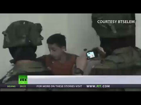 Israeli forces abuse detained Palestinian minors - HRW