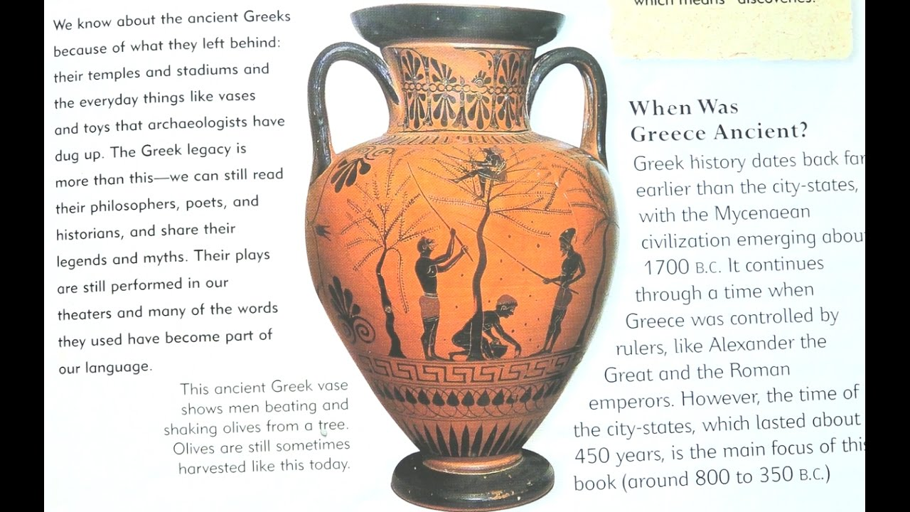 ancient greece everyday life book on kids channel play tube tv
