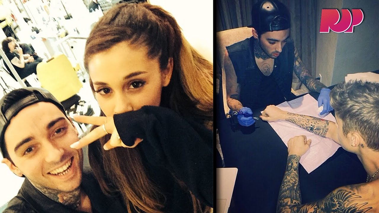 Tattooing Justin Bieber And Ariana Grande With Romeo Lacoste Youtube
