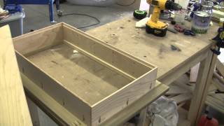 How To Build A Recessed Cabinet Pt 2