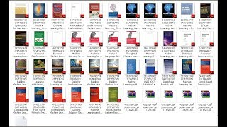 Machine Learning Tutorial in 50 books PDF Free download