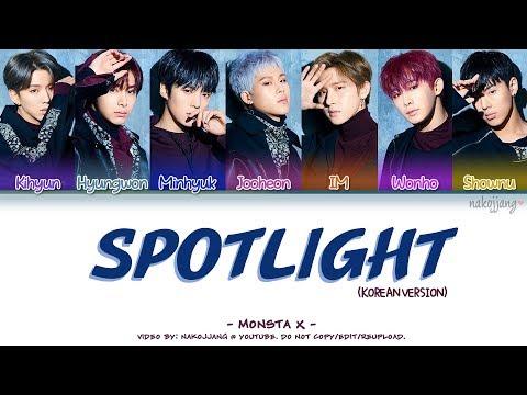 MONSTA X (몬스타엑스) – SPOTLIGHT *KOREAN VER.* (Coded Lyrics Eng/Rom/Han/가사)