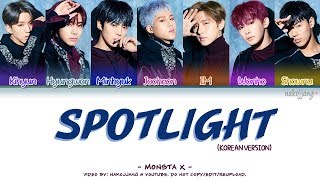 monsta x spotlight korean version