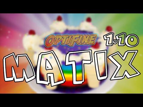 Minecraft - Matix Client 1.10.x (with OptiFine) Minecraft Hacked Client - WiZARD HAX