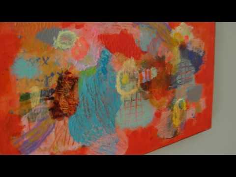 Na-Na Деменкова в галерее абстракционизма 2017