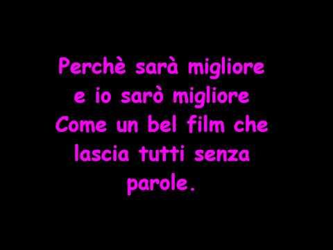 """Tiziano Ferro """"La Fine"""" Testo"""