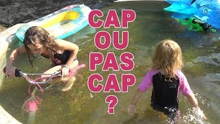CHALLENGE • Cap ou Pas Cap Aquatique :) - Studio Bubble Tea challenge