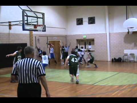 Roncalli Middle School JV vs Corwin JV - 4th Quarter 11-8-10