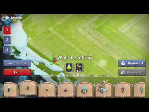 Castle Clash || HBM AG Base || How To Build A HBM Base
