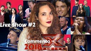 X FACTOR 2018 | Live Show 2: Anastasio, Sherol Dos Santos e Naomi | Commento