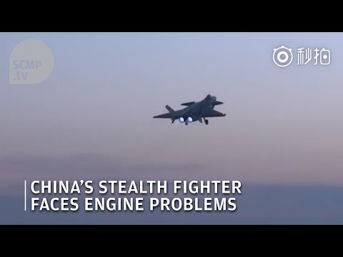 China's stealth fighter faces engine problems