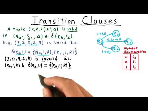Transition Clauses - Georgia Tech - Computability, Complexity, Theory: Complexity