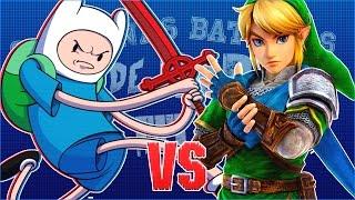Finn vs Link. Chingonas Batallas de Rap de Titanes | Zoiket