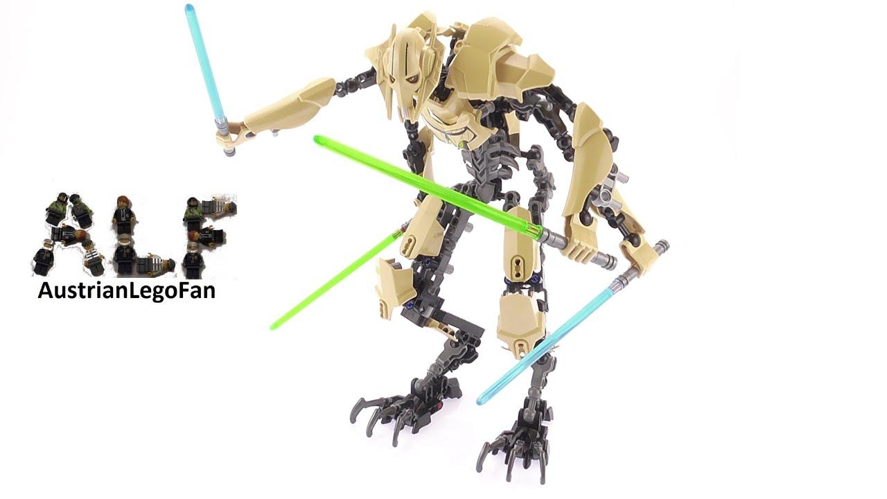 Lego Star Wars 75112 General Grievous Buildable Figure  Lego