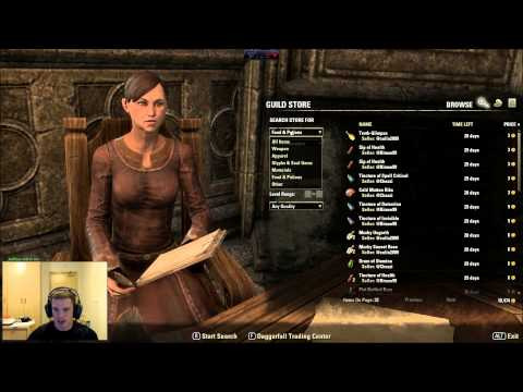 ESO JOIN Multiple TRADING Guilds Tip