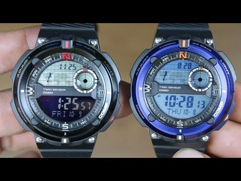 0996fd8e585 CASIO OUTGEAR SGW-600H-1B VS SGW-600H-2A - YouTube