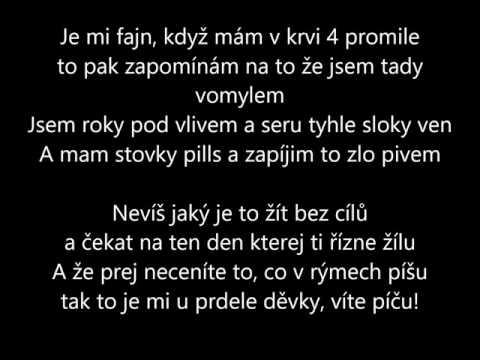 Schyzo - Zkurveně Smutná Písnička text