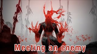 Grimstroke - Meeting an enemy (with subtitle)