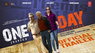 Official Trailer : One Day | Anupam Kher |  Esha Gupta | Kumud Mishra | 14th June 2019