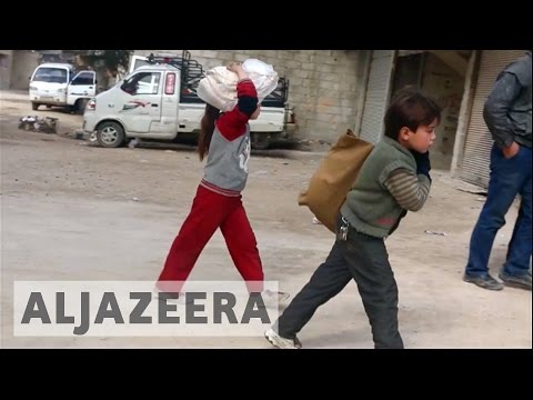 Syrian forces block aid to eastern Ghouta
