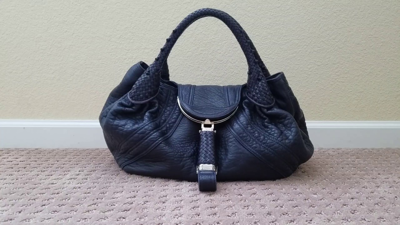 d1fb740212ca My Limited Edition Blueberry Fendi Spy Bag    - YouTube