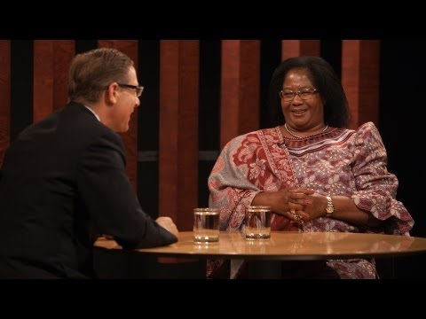 Overheard with Evan Smith - President Joyce Banda of Malawi