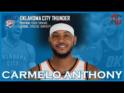 BREAKING NEWS | OKLAHOMA CITY THUNDER ACQUIRE CARMELO ANTHONY | ATG MVP