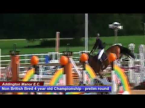 British Young Horse Showjumping Championships Non-British 4YO Prelim - Friday 18th August 2017