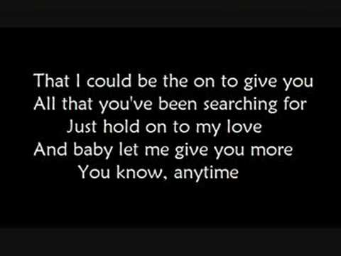 Anytime (lyrics) - Kelly Clarkson