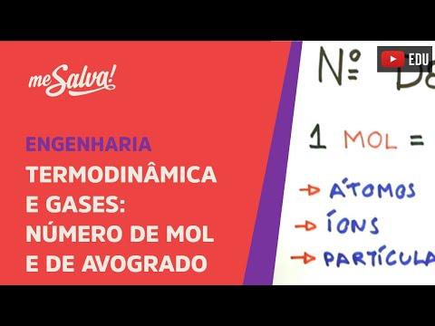 Me Salva! CDG02 - Número de Mol e de Avogadro - Termodinâmica e Gases