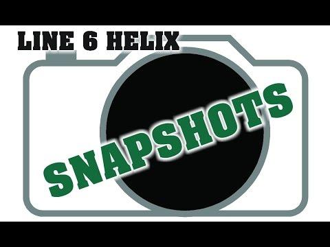 line 6 helix snapshots presets demo by glenn delaune youtube. Black Bedroom Furniture Sets. Home Design Ideas