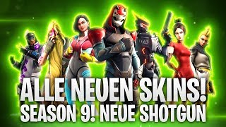 LVL 100 - SEASON 9! NEW SHOTGUN & ALL NEW SKINS! 🔴 | Fortnite: Battle Royale