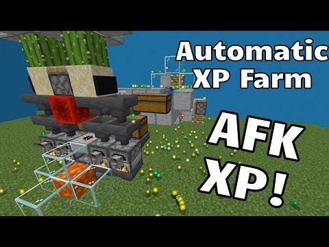automatic-xp-farm/bank-unlimited-xp!---upgraded-tiny-auto-xp-farm-(minecraft-java-1-14+)
