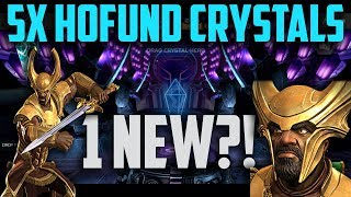 5x Heimdall FGMC's - Hofund Crystal Opening - Marvel Contest of Champions