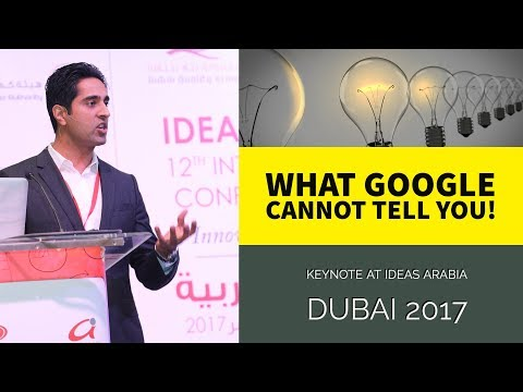 What Google cannot tell you | The Power of Human Ingenuity | Innovation Mindset Keynote
