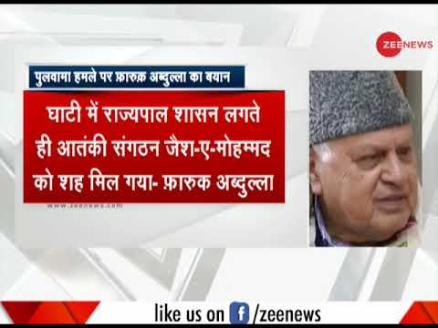 Attacks like Pulwama will continue till Kashmir issue is resolved, says Farooq Abdullah