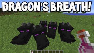 Minecraft 1.9 Snapshot! - DRAGON'S BREATH Potion! + Lingering Potions!