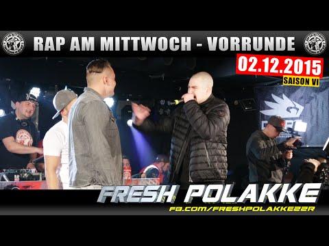 RAP AM MITTWOCH BERLIN: 02.12.15 BattleMania Vorrunde feat. FRESH POLAKKE uvm. (2/4) GERMAN BATTLE