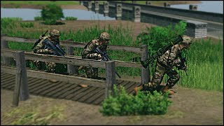 EPIC COMBAT RESCUE MISSION - Combat Mission: Black Sea Gameplay