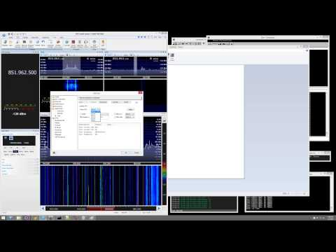 Trunked Radio system using SDR Console and Unitrunker/DSD+