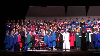 All South Jersey Junior HIgh Choir The Storm is Passing Over 2011